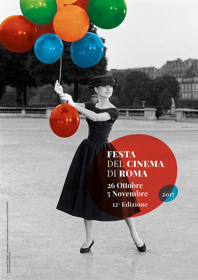 Audrey Hepburn in locandina per Festa del Cinema di Roma 2017